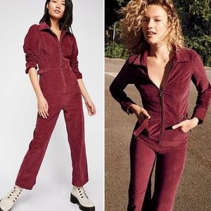 """Free people retro inspired """"take me out"""" jumpsuit"""